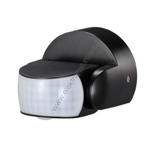 Датчик за движение 360° Черен