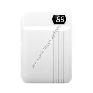 Външна батерия 10 000mАh 8151 Бяла