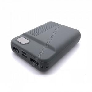 Външна батерия 10 000mАh 8852 Сива