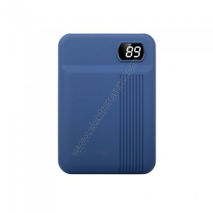 Външна батерия 10 000mАh 8853 Тъмно синя
