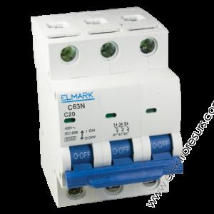 Автоматичен предпазител MCB C63N/ 50A