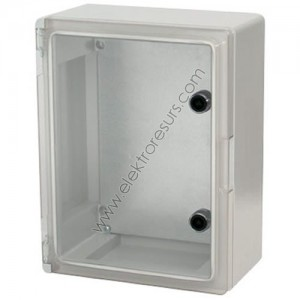 Табло 250/330/130 ABS IP65 Прозрачен капак