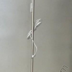 Лампион Матиран никел/Син