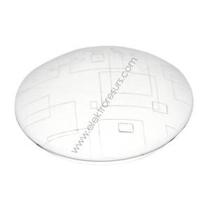 LED Плафониера 12W Кръг ф230