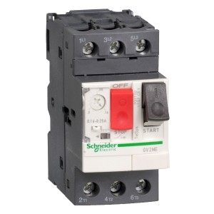 Моторна защита GV2ME10AP 4-6.3A