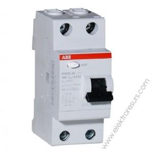 Дефектнотокова защита FH202 AC-63/0.03