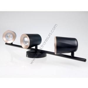 LED Спот 18W Черен 4000K