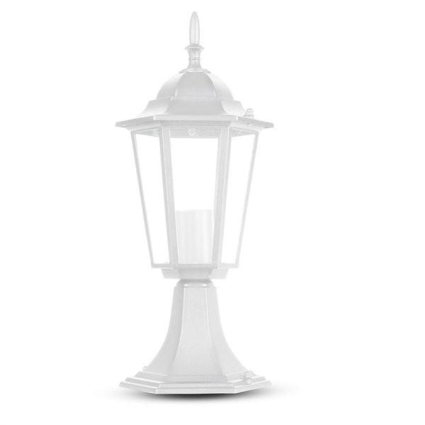 LED Градиснки Стълб 30см Мат Бял
