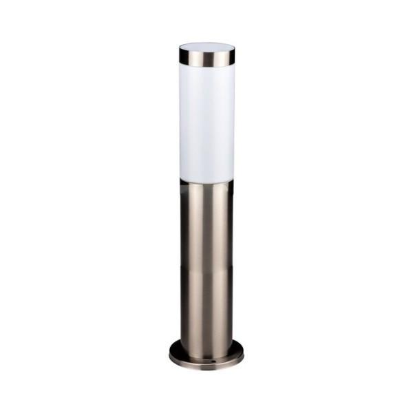LED Градинска Лампа 45cm Сатен Никел IP44