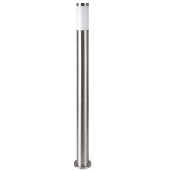LED Градинска Лампа 110cm Сатен Никел IP44