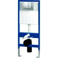 Комплект Структура за вграждане + Стенна тоалетна чиния