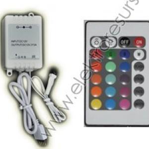 LED  Контролер  72w с 24 бутона
