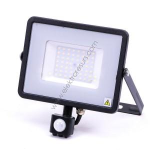 LED прожектор 50W 6000k Сензор
