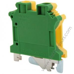 Клема 4кв Жълто-зелен