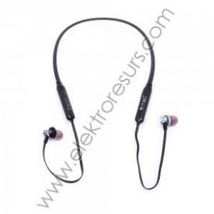 Bluetooth слушалка 165mAh Черна