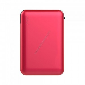 Външна батерия 5000mАh 8866 Червена