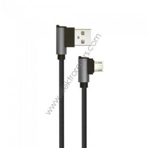 Кабел USB 1м Черен DIAMOND