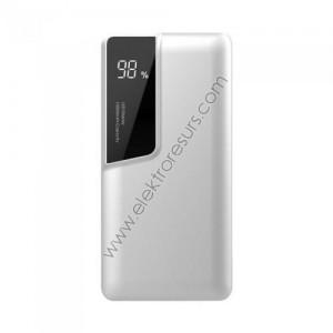 Външна батерия 10 000mАh 8870 Бяла