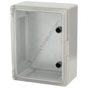 Табло 210/280/130 ABS IP65 Прозрачен капак