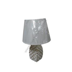 Настолна лампа У669 Бяла