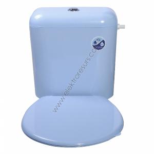Капак за тоалетна чиния Син
