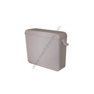 Тоалетно казанче за ниско поставяне Модел 1 Бяло