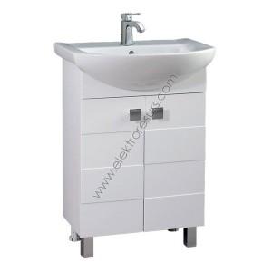 Шкаф за баня Ирина- Долен