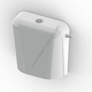 Тоалетно казанче Двустепенно Бяло