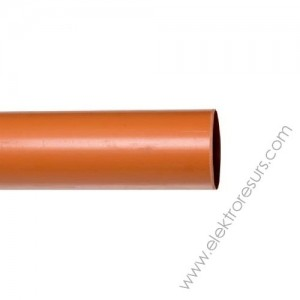 PVC  тръба Ф63 х 3.0мм - 6м. Пимташ