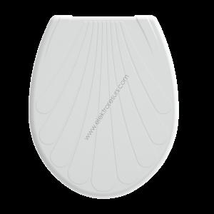 Капак за тоалетна чиния Далия Бял