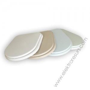 Капак за тоалетна чиния Кафяв