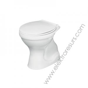 Тоалетна чиния TENAX J329801 Вертикално оттичане