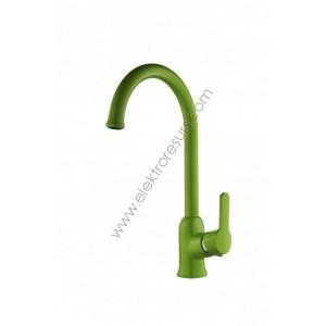 Смесител за кухня Cascada Color Зелен