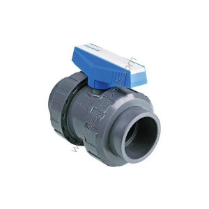 PVC Кран Ф32 Напорен За вода Син