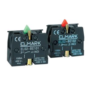 Помощен контакт EL02BE101 1NO
