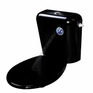 Капак за тоалетна чиния Черен