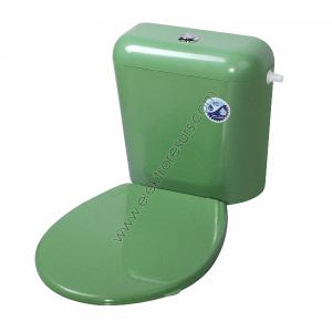 Капак за тоалетна чиния Зелен