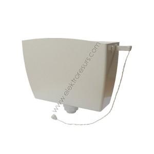 Тоалетно казанче за високо поставяне Бяло